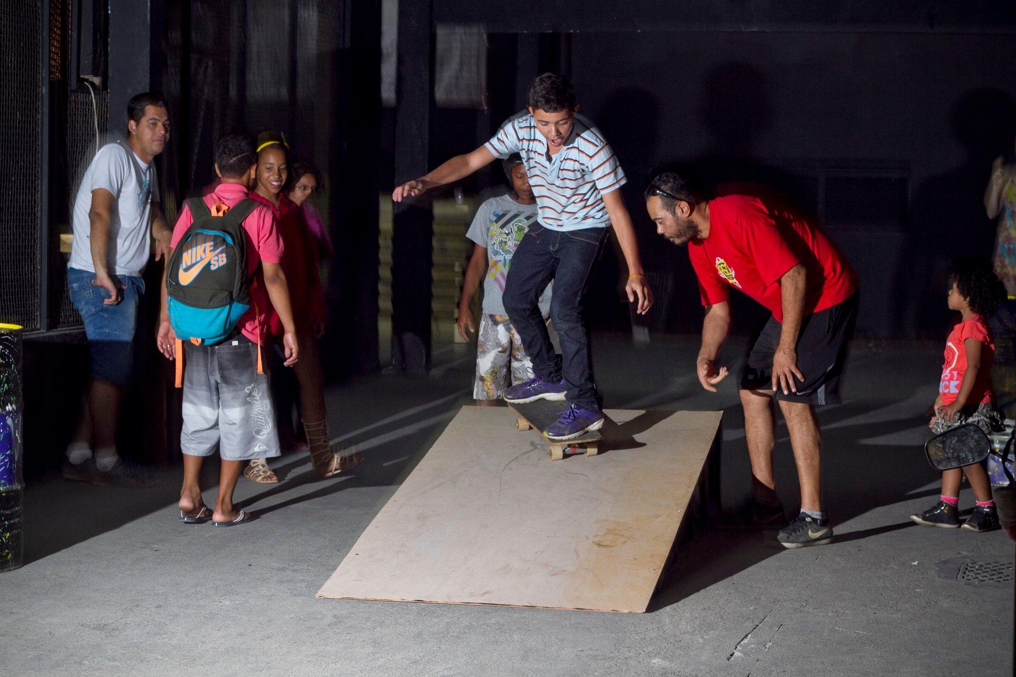 Oficina de skate_Foto de Camilo Neres