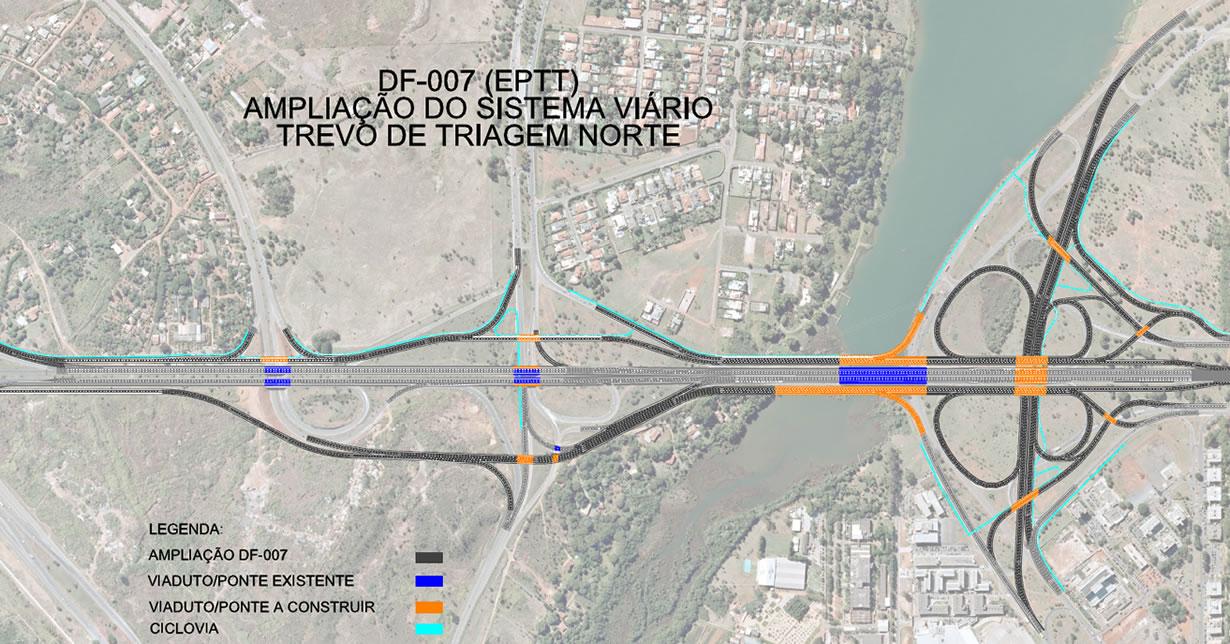 Projeto do TTN - Ponte do Bragueto.