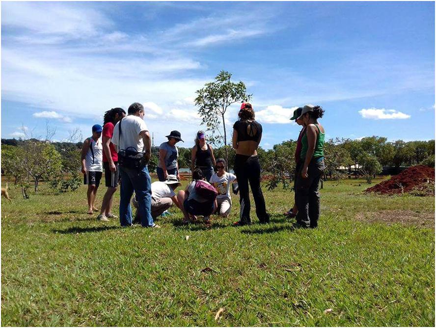 Orientação de Layse Ennes, participante do Movimento Nossa Brasília, engenheira florestal.