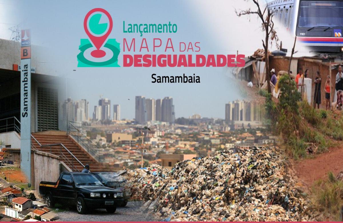 Nossa Brasília retorna às cidades com atividade do Mapa das Desigualdades