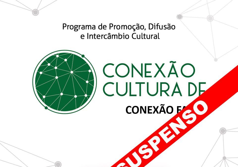 Secretaria de Cultura suspende programa de difusão cultural